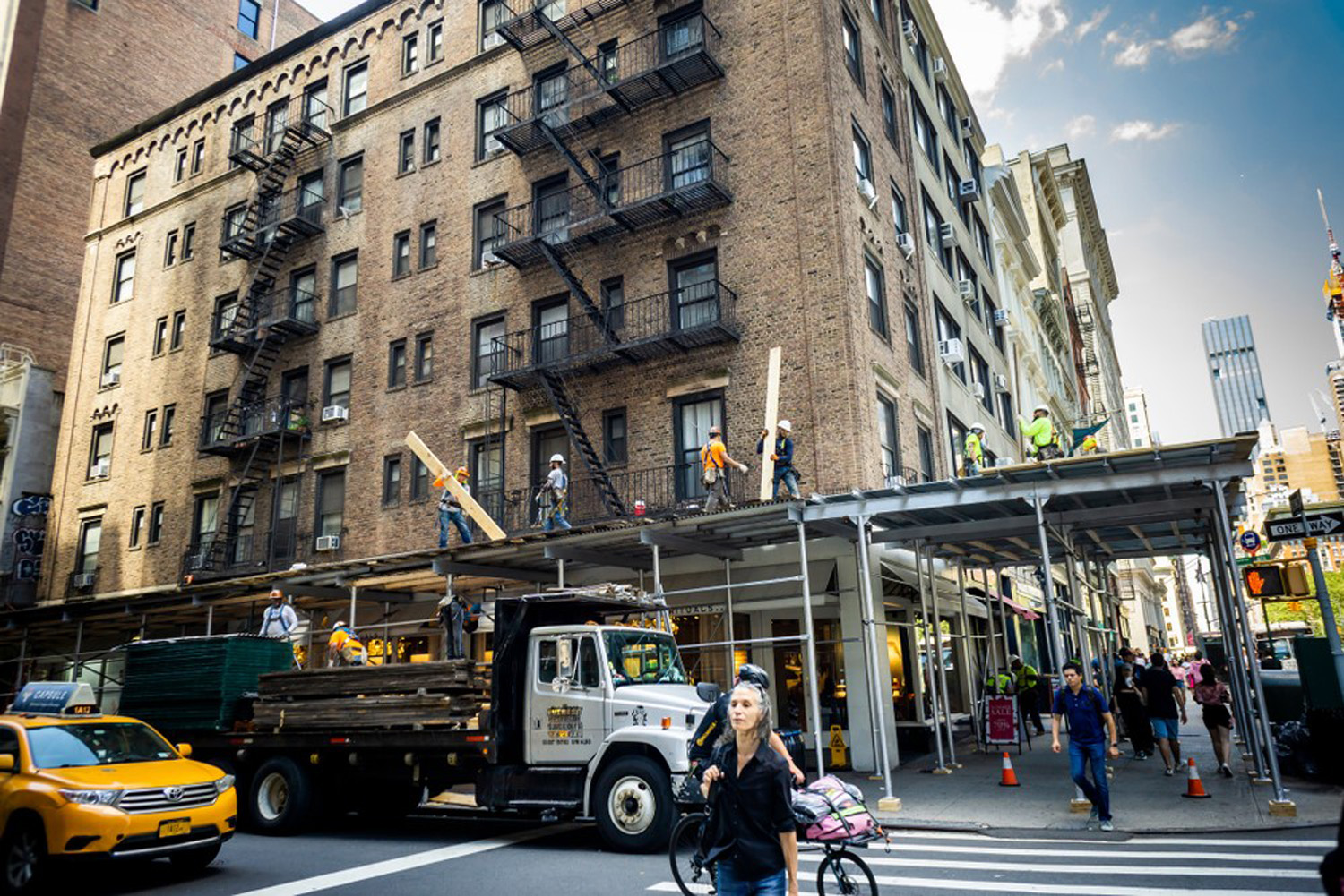 What is New York's Scaffold Law?